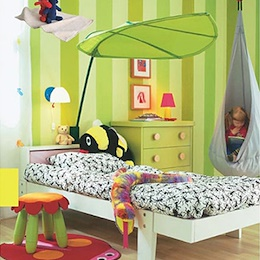MARKETB LOVA Bed Canopy Green/Baby/Kids/Children Canopies/Kids Room Decorating/Kids space/Playground/Crib/Childbirth Preparation/Princess Room/Play Bed Tent/Home Deco