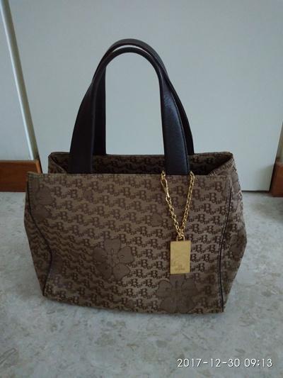 Qoo10 Bonia Handbag Bag Wallet