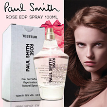 11.11 SPECIAL! 1+1 PERFUME BRAND NEW PAUL_SMITH ROSE EDP 100 ML TESTER PACKAGING