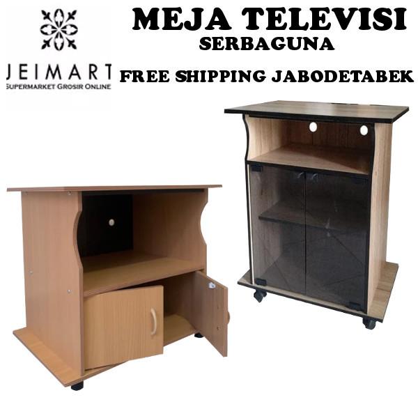 [ FREE SHIPPING JABODETABEK ] Meja Televisi Serbaguna JEIMART Termurah Deals for only Rp153.600 instead of Rp180.706
