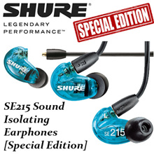 Shure-SE215 Sound Isolating Earphones (Special Blue Edition) Earpiece Sport Headset headphone music earphone shure se215 lowest price high quality iphone samsung isolating