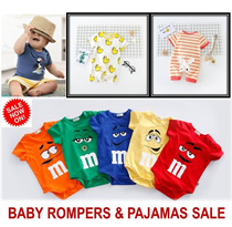 [ORTE] Sale★Baby Pajamas★Rompers★100% cotton baby clothes★Diapers Friendly★Jumpers★Fast Del★