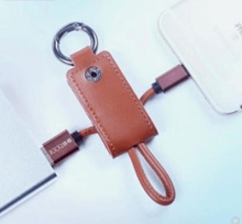 RIXI/Luoshan Apple i5/i6 portable mobile phone data cable keychain Brand Android charging cable