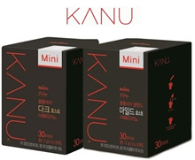 Korea Kanu Colombia Blend Mild Roast Americano Mini 27g 30T ★Free Delivery★
