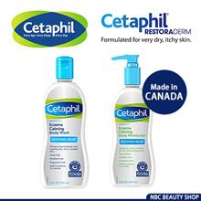 Cetaphil ★ Restoraderm Eczema Calming Moisturizer | Skin Restoring Body Wash | CeraVe