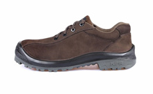 KPR Safety Shoes D/Brown M-217 (Low Cut lace up) *FREE SHIPPING BY QXPRESS*