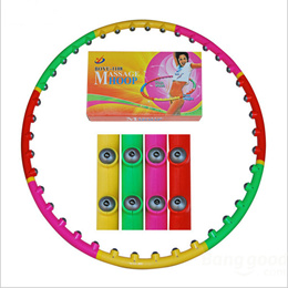 Women Sport Magnetic Massage Hula Hoop Fitness Magnet Hoops