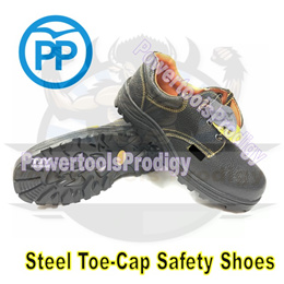 PP STEEL TOE SAFETY SHOE / SAFETY SHOES / NON SLIP / ANTI SLIP / STEEL TOE-CAP