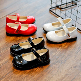 Boys shoes, girls shoes 2017 years new baby Princess shoes black fashion show shoes children s shoes