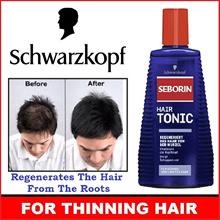 SCHWARZKOPF Seborin Aktiv Hair Tonic 300ML / For Thinning Hair *READY STOCKS