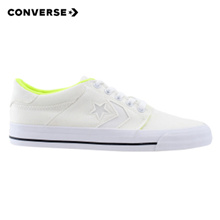Converse Tre Star Ox (White/Volt/Black)