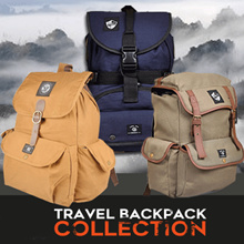 JAVA SEVEN AND CBR SIX TRAVEL BACKPACK COLLECTION