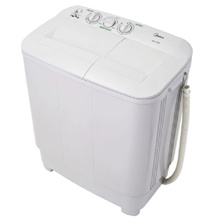 [BUY AT RM341 With RM 60 CART COUPON!!] - MIDEA 6kg Semi Auto Washing Machine MSW-6008P  // FREE SHIPPING // READY STOCKS