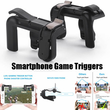 Buy 1 Get 1 Free L1R1 SharpShooter PUBG Gaming Trigger Fire Button Phone Games Shooter Controller