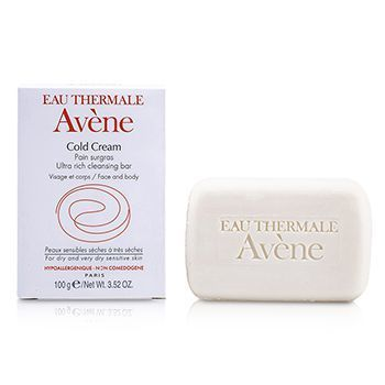 Avene Cold Cream Ultra Rich Cleansing Bar Deals for only RM0.45 instead of RM1
