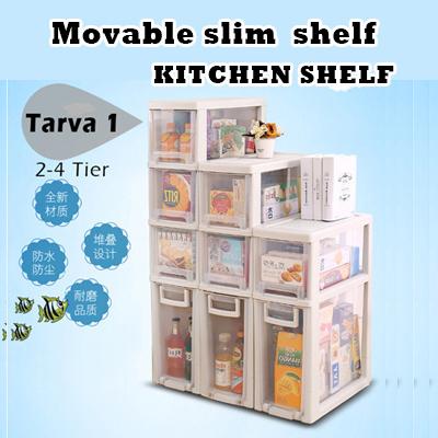 Tarva Slim Storage Cabinet Kitchen