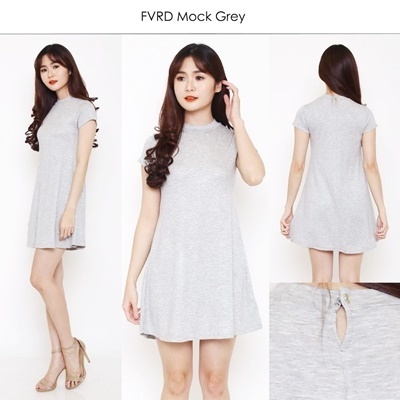 FVRD Mockneck Grey