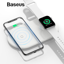 Baseus Wireless Charging Pillow For iPhone + Apple Watch Multifunction Wireless Charger For iPhone X