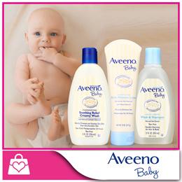 1 + 1 U.P$13.90!! [Aveeno] Baby Wash and Lotion / Active Natural Lotion