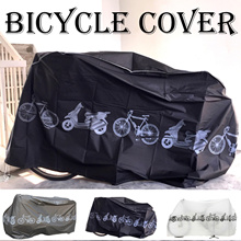 Bicycle Cover/ Bicycle rain cover/ bike cover Plastic/ Protect your bike from dust/rain/ Belt Lock