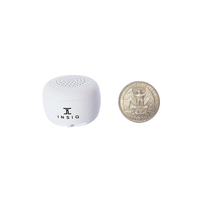 INSIQ Worlds Smallest Portable Bluetooth Speaker - Great Audio Quality for  its Size - 30+ Feet Range