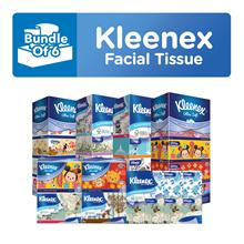 Bundle OF 6 [KLEENEX] Facial Tissues (TSUM TSUM/Classic/Garden/Lifestyle/Natural/Refresh Floral)