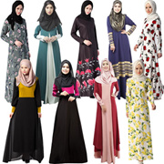 Jubah Dress Muslim Womens Clothing Long Sleeve Dress Traditional Muslim Women Clothing  LYQ029