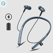 Sketchfab S750 Truly Wireless Bluetooth In Ear Neckband Earphone with Mic (Multicolour)