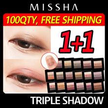 ♥Hottest♥ 1+1 [Missha] Triple Shadow 1+1 / ONE TOUCH SHADOW/BEST