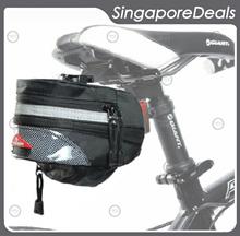 [PZ][J5] Bicycle Saddle Bag Seat Post Bag Bike expandable Volume Bicycle Light Bicycle Wheel Light 18650