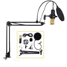 Professional Condenser Audio 3.5mm Wired BM800 Studio Microphone Vocal Recording KTV Karaoke Microph