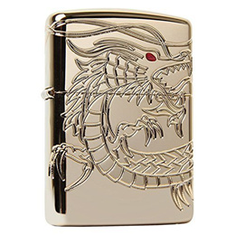 Zippo 29265 Chinese Dragon Lighter Made in USA / USA Version