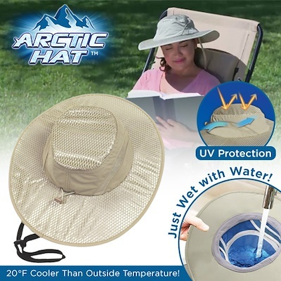 4b43e9fb1 Arctic Hat Summer Cooling Hats Arctic Cap Sunscreen Cooling Ice Hat Outdoor  Air Conditioning Caps