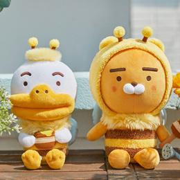 [카카오 프렌즈] 허니프렌즈 소프트 인형⭐[Kakao Friends] Honey Friends Mochi Cushion Apeach Ryan⭐