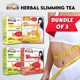 [21st Century] 21st Century Herbal Slimming Tea *New Thermogenic and Detox Formula  - Bundle of 3