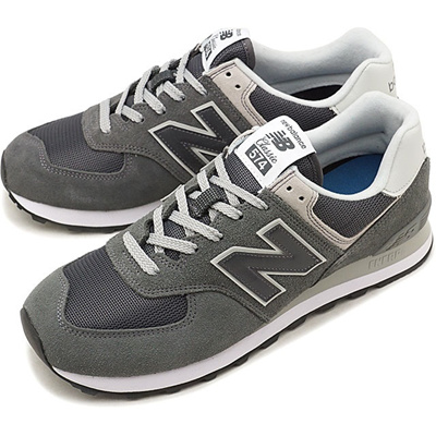 New Balance?Japanese Genuine? New Balance new balance ML574 Men's Ladies D Wise Sneakers Shoes GRAY (ML574EPH)