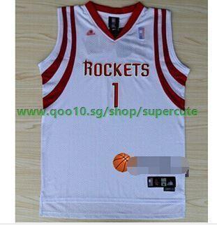new styles ee1f7 ddcad NBA Rockets jersey on the 1st Tracy McGrady Raptors Magic Hardaway retro  Dark Star Basketball Unifor