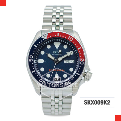 *APPLY SHOP COUPON* SEIKO Diver Automatic Navy Blue Dial Mens Watch SKX009K2. Free Shippi