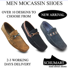 ★NEW MEN MOCASSINS★PU★LEATHER★MEN SHOES★SLIP-ON★LACED★FASHION★