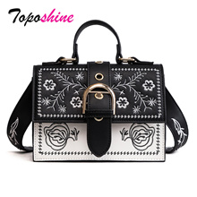 542fe63bfdb Quick View Window OpenWish. rate 0. factory Toposhine Fashion Women Bag  Panelled Vintage Girls Bags for Girls Black PU Leather ...