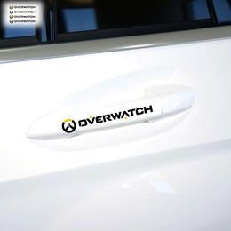 4 x over watch car door handle sticker and decal bmw e46 d focus volkswagen polo skoda golf renault