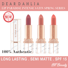 ♥Lowest Price♥ [Dear Dahlia] Lip Paradise Intense Satin Spring Series /Long Lasting /Semi-Matte