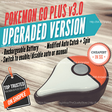 ⭐Pokemon Go Plus Modified V3.0 Auto Catch+Spin (SG Seller!)