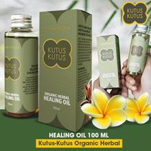 Kutus Kutus Organic Herbal Healing Oil Original From Bali 100ml Mengatasi 63 Penyakit Best Seller