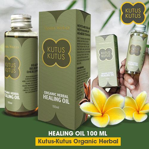 Kutus Kutus Organic Herbal Healing Oil Original From Bali 100ml Mengatasi 63 Penyakit Best Seller Deals for only Rp165.000 instead of Rp165.000