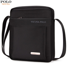 wholesale VICUNA POLO Light Weight Oxford Mens Messenger Bags For iPad Durable Fashion Men Shoulder