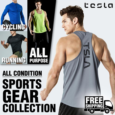 a17221e511d5f3 Tesla Sportswear Collection   Training Jersey   Running Pants   Open  Special Promotion