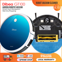 [▼49%]GT100 Aurora Robotic Vacuum Cleaner Gyroscope🌟