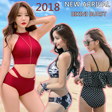 【2019 Happy New Year】 Bikini Burst  SwimSuit Special Deals Sales! Women swim wear 🇸🇬👙