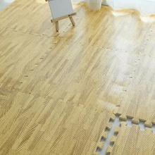Wood Grain EVA Floor Mat(60cm*60cm)/high end kids crawl mat/interlocking playing mat/local SG stock